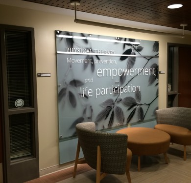 Nazareth College WRI Branded Environment