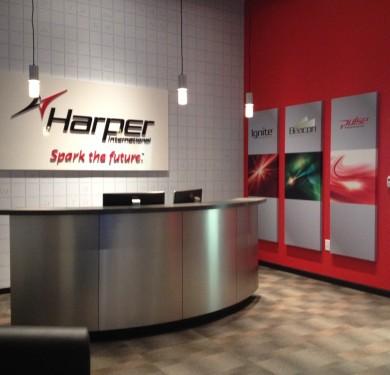 Branded Lobby, Harper International